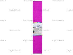 Цветная крепированная бумага, ярко-розовая, Ц380007У, отзывы