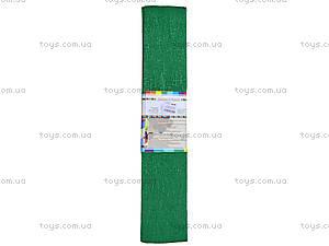 Цветная крепированная бумага, зеленая, Ц380007У, фото