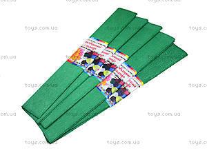 Цветная крепированная бумага, зеленая, Ц380007У, отзывы