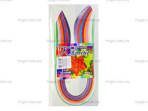 Набор бумаги для квиллинга, 10 цветов, Ц436003У