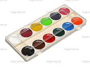 Акварельные краски «Классика», 12 цветов, Ц492004У, фото