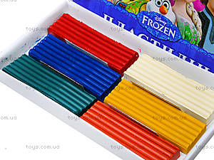 Детский пластилин Frozen, 6 цветов, Ц558010У, фото