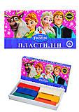 Детский пластилин Frozen, 6 цветов, Ц558010У