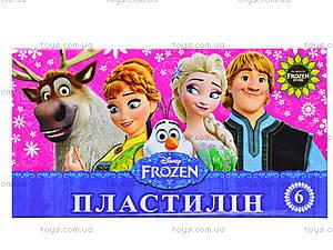 Детский пластилин Frozen, 6 цветов, Ц558010У, отзывы