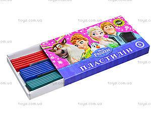 Детский пластилин Frozen, 6 цветов, Ц558010У, цена