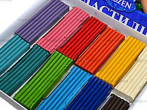 Пластилин для детей «Холодное сердце», 12 цветов, Ц558011У, фото