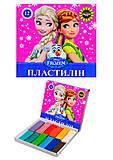 Пластилин для детей «Холодное сердце», 12 цветов, Ц558011У