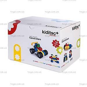 Детский конструктор Kiditec Cars & Stars, 1113