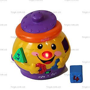 Развивающая игрушка «Волшебный горшочек», украинский язык, M4916, купить