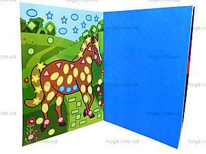 Детская мозаика с наклейками «Колибри», 2129, фото