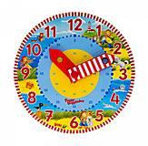 Часы деревянные goki «Изучаем время», 58526