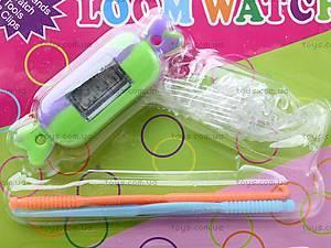Набор резинок для плетения с часами Rainbow Loom, AC-2015, фото