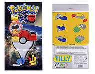 Часы-конструктор Pokemon GO, BT-PG-0012, toys