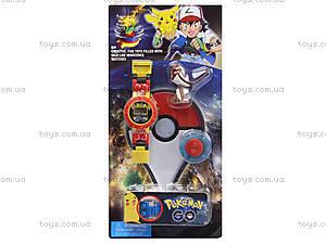 Часы-конструктор Pokemon GO с фигуркой, BT-PG-0013, купить