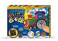 Часы - паровозик рамка для фото, СС-01-02, іграшки