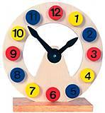 Часы-пазл деревянные, 84050, тойс ком юа