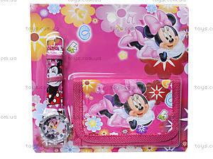 Часы с кошельком «Мультики», BT-CHW-0001, toys.com.ua