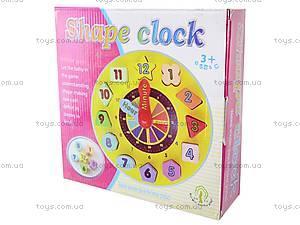 Часы-вкладыш «Геометрические фигуры», W09-402