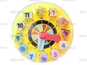 Часы-вкладыш «Геометрические фигуры», W09-402, отзывы