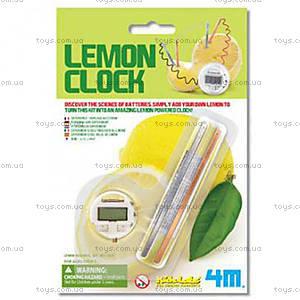 Часы из лимона серии Детская лаборатория, 00-03306, купить