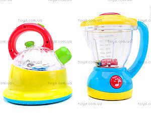 Чайник и блендер «Веселая кухня», 0920, магазин игрушек