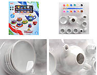 Раскраска «Чайный набор», 16 предметов, 555-DIY002, фото