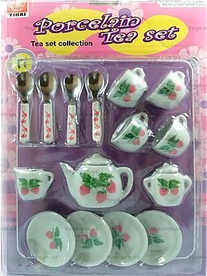 Чайный сервиз для кукол, 17 предметов, YH5989-Q5