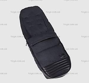 Чехол для ног Priam Footmuff True Blue Denim-navy blue, 515404019