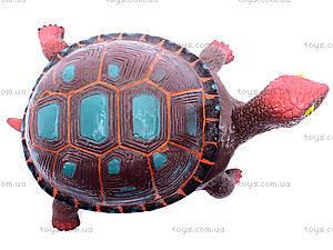 Черепаха с силиконовыми вставками, A008, игрушки