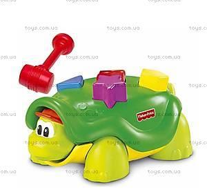 Развивающая игрушка с молоточком «Черепаха», B0336, купить