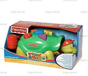 Развивающая игрушка с молоточком «Черепаха», B0336
