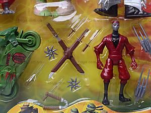 Игровой набор для детей «Черепашки-ниндзя», 0772, купить