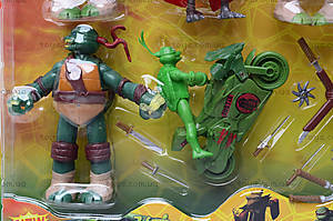 Игровой набор для детей «Черепашки-ниндзя», 0772, фото