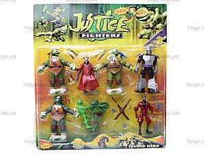 Игровой набор для детей «Черепашки-ниндзя», 0772, игрушки