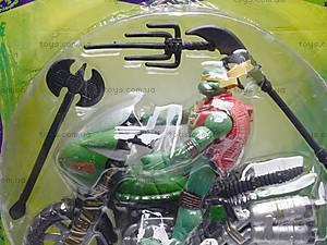 Герои мультфильма «Черепашки-ниндзя» с мотоциклом, 200707, отзывы
