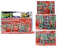 Детский игровой набор «Черепашки-ниндзя», YLJ2663B, фото