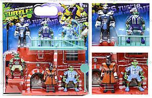 Игровой набор фигурок «Черепашки-ниндзя», YLJ2664A