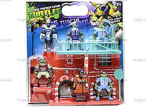 Игровой набор фигурок «Черепашки-ниндзя», YLJ2664A, цена