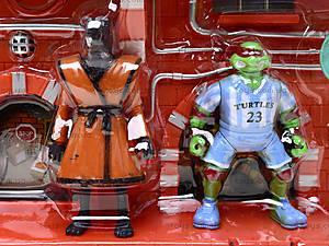 Игровой набор фигурок «Черепашки-ниндзя», YLJ2664A, игрушки