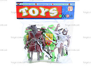 Набор «Черепашки-ниндзя», 2068-403, игрушки