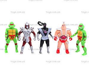 Игровой набор «Черепашки-ниндзя» для детей, 2068-408, детские игрушки