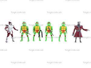 Герои из мультфильма «Черепашки-ниндзя», 6 штук , 2076-401, детские игрушки