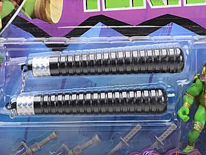 Фигурки «Черепашки-ниндзя» с оружием, 200685-1, купить