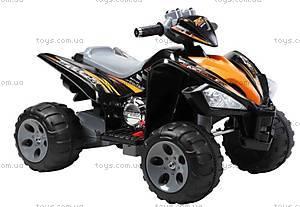 Черный квадроцикл для детей, YJ007C BLACK