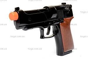 Черный пистолет, с цилиндром, HW2080BB