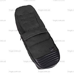 Чехол для ног Priam Footmuff «Black Beauty Denim-black», 515404001