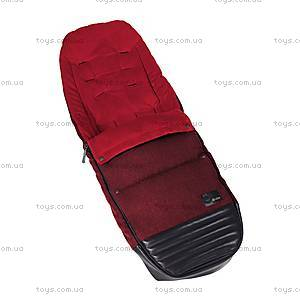 Чехол для ног Priam Footmuff «Hot & Spicy Denim-red», 515404021