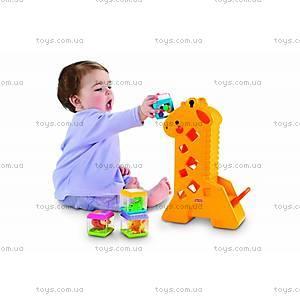 Чудо-жираф с кубиками, B4253, купить