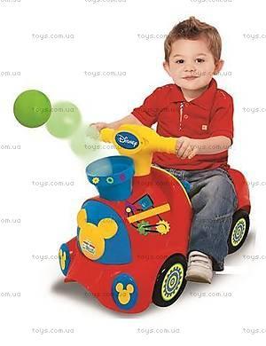 Чудомобиль «Паровоз Микки» серии «Веселые шарики», 052670, купить
