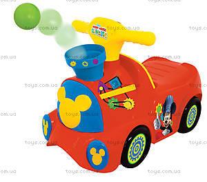 Чудомобиль «Паровоз Микки» серии «Веселые шарики», 052670
